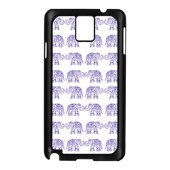 Indian Elephant Pattern Samsung Galaxy Note 3 N9005 Case (black)