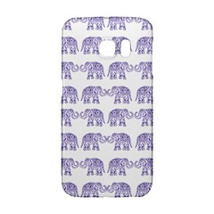 Indian Elephant Pattern Galaxy S6 Edge by Valentinaart