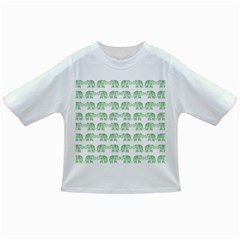 Indian Elephant Pattern Infant/toddler T Shirts