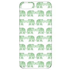 Indian Elephant Pattern Apple Iphone 5 Classic Hardshell Case by Valentinaart