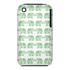 Indian Elephant Pattern Iphone 3s/3gs by Valentinaart