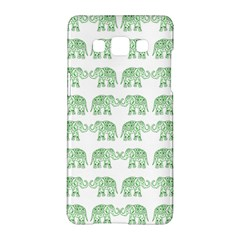 Indian Elephant Pattern Samsung Galaxy A5 Hardshell Case  by Valentinaart