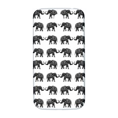 Indian Elephant Pattern Samsung Galaxy S4 I9500/i9505  Hardshell Back Case by Valentinaart