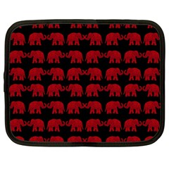 Indian Elephant Pattern Netbook Case (xl)