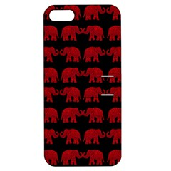 Indian Elephant Pattern Apple Iphone 5 Hardshell Case With Stand