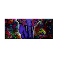 Abstract Elephant With Butterfly Ears Colorful Galaxy Cosmetic Storage Cases