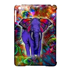 Abstract Elephant With Butterfly Ears Colorful Galaxy Apple Ipad Mini Hardshell Case (compatible With Smart Cover)