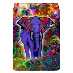 Abstract Elephant With Butterfly Ears Colorful Galaxy Flap Covers (s)