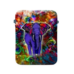 Abstract Elephant With Butterfly Ears Colorful Galaxy Apple Ipad 2/3/4 Protective Soft Cases