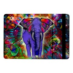 Abstract Elephant With Butterfly Ears Colorful Galaxy Samsung Galaxy Tab Pro 10 1  Flip Case