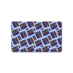 Abstract Pattern Seamless Artwork Magnet (name Card) by Amaryn4rt
