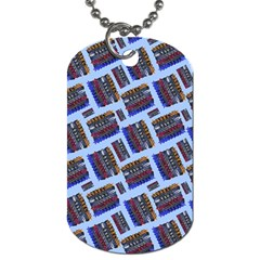 Abstract Pattern Seamless Artwork Dog Tag (two Sides) by Amaryn4rt