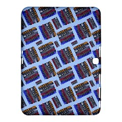 Abstract Pattern Seamless Artwork Samsung Galaxy Tab 4 (10 1 ) Hardshell Case  by Amaryn4rt