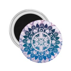 Mandalas Symmetry Meditation Round 2 25  Magnets by Amaryn4rt