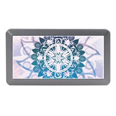 Mandalas Symmetry Meditation Round Memory Card Reader (mini) by Amaryn4rt