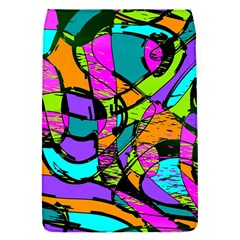 Abstract Art Squiggly Loops Multicolored Flap Covers (s)  by EDDArt