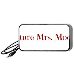 Future Mrs  Moore Portable Speaker (black) by badwolf1988store