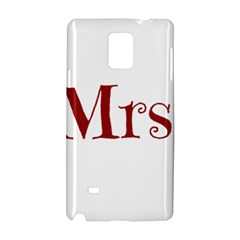 Future Mrs  Moore Samsung Galaxy Note 4 Hardshell Case