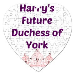 Harry s Duchess Jigsaw Puzzle (heart) by badwolf1988store