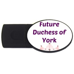 Harry s Duchess Usb Flash Drive Oval (4 Gb) by badwolf1988store