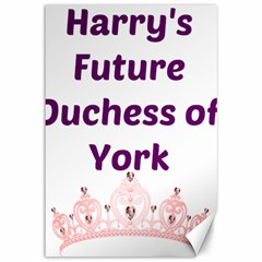 Harry s Duchess Canvas 12  X 18   by badwolf1988store