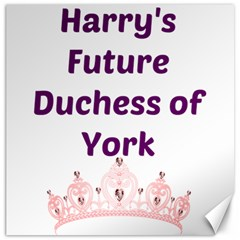 Harry s Duchess Canvas 16  X 16   by badwolf1988store