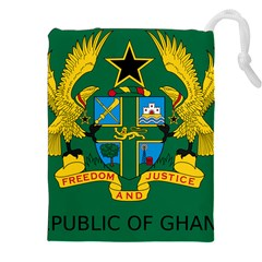 National Seal Of Ghana Drawstring Pouches (xxl) by abbeyz71