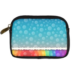 Rainbow Background Border Colorful Digital Camera Cases by Amaryn4rt