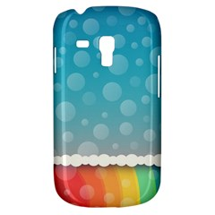 Rainbow Background Border Colorful Galaxy S3 Mini