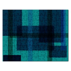 Boxes Abstractly Rectangular Jigsaw Puzzl by Amaryn4rt