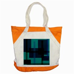 Boxes Abstractly Accent Tote Bag by Amaryn4rt