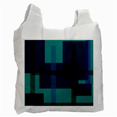 Boxes Abstractly Recycle Bag (two Side)  by Amaryn4rt