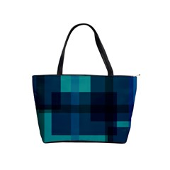 Boxes Abstractly Shoulder Handbags by Amaryn4rt