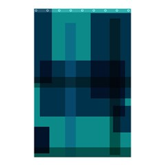 Boxes Abstractly Shower Curtain 48  X 72  (small)  by Amaryn4rt