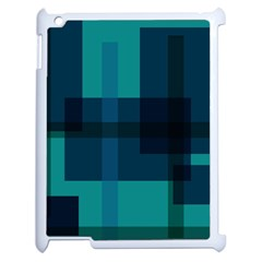 Boxes Abstractly Apple Ipad 2 Case (white) by Amaryn4rt