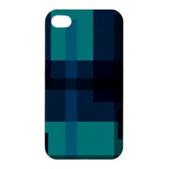 Boxes Abstractly Apple Iphone 4/4s Hardshell Case by Amaryn4rt