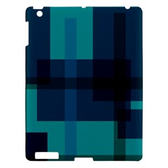 Boxes Abstractly Apple Ipad 3/4 Hardshell Case by Amaryn4rt