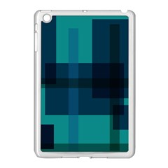 Boxes Abstractly Apple Ipad Mini Case (white) by Amaryn4rt