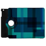 Boxes Abstractly Apple iPad Mini Flip 360 Case Front