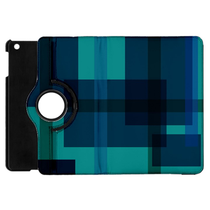 Boxes Abstractly Apple iPad Mini Flip 360 Case