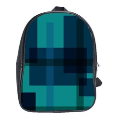 Boxes Abstractly School Bags (xl)  by Amaryn4rt