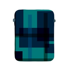 Boxes Abstractly Apple Ipad 2/3/4 Protective Soft Cases by Amaryn4rt