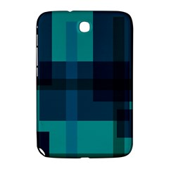 Boxes Abstractly Samsung Galaxy Note 8 0 N5100 Hardshell Case  by Amaryn4rt