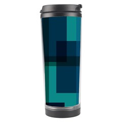 Boxes Abstractly Travel Tumbler by Amaryn4rt
