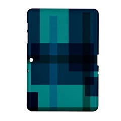 Boxes Abstractly Samsung Galaxy Tab 2 (10 1 ) P5100 Hardshell Case  by Amaryn4rt