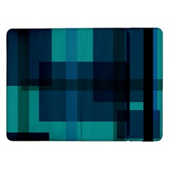 Boxes Abstractly Samsung Galaxy Tab Pro 12 2  Flip Case by Amaryn4rt