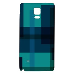 Boxes Abstractly Galaxy Note 4 Back Case by Amaryn4rt
