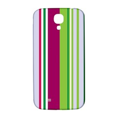 Beautiful Multi Colored Bright Stripes Pattern Wallpaper Background Samsung Galaxy S4 I9500/i9505  Hardshell Back Case by Amaryn4rt