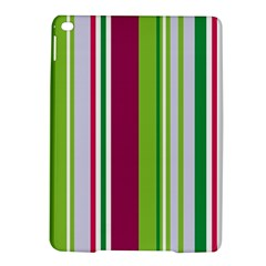 Beautiful Multi Colored Bright Stripes Pattern Wallpaper Background Ipad Air 2 Hardshell Cases by Amaryn4rt