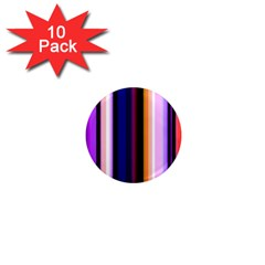Fun Striped Background Design Pattern 1  Mini Magnet (10 Pack)  by Amaryn4rt
